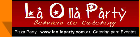 Pizza Party   www.laollaparty.com.ar  Catering para Eventos